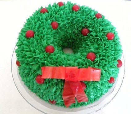 Christmas Cake Ideas With Cute Christmas Cake P...