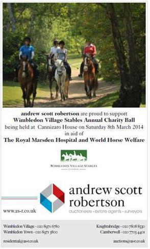 Andrew Scott Robertson Sponsors Wimbledon Village Stables Charity Ball | Wimbledon Property | Scoop.it