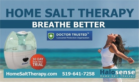 Get Rid Of Your Respiratory Problems The Modern Way, With The Innovative Ultrasonic Salt Particle Dispenser | Home Salt Therapy and Saltair Salinizer Tips for Best Results | Scoop.it