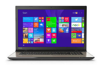 Toshiba Satellite L70-CBT2N22 Review - All Electric Review | Laptop Reviews | Scoop.it