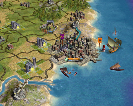 How a Teacher used Civilization IV to teach Roman history | MyEdu&PLN | Scoop.it