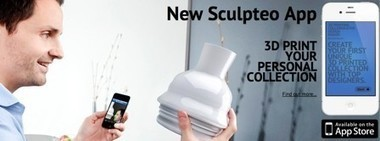 Sculpteo brings 3D printing to the iPhone | TUAW - The Unofficial ... | mlearn | Scoop.it