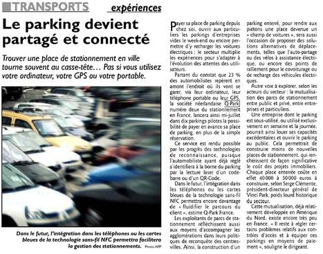 Le Républicain Lorrain   Grande enquête Q-Park Les Français et le stationnement   Scoop.it