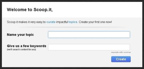 Como usar Scoop.it en pocos pasos - Nodored | Conociendo Scoop.it | Scoop.it