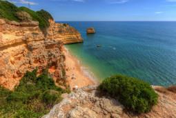 Europe // Portugal // Algarve // Bengil // Praia da Marinha | Images Traveling | Scoop.it