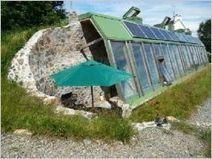 A vendre : maison écologique en pneus recyclés | Earthships et serres passives | Scoop.it