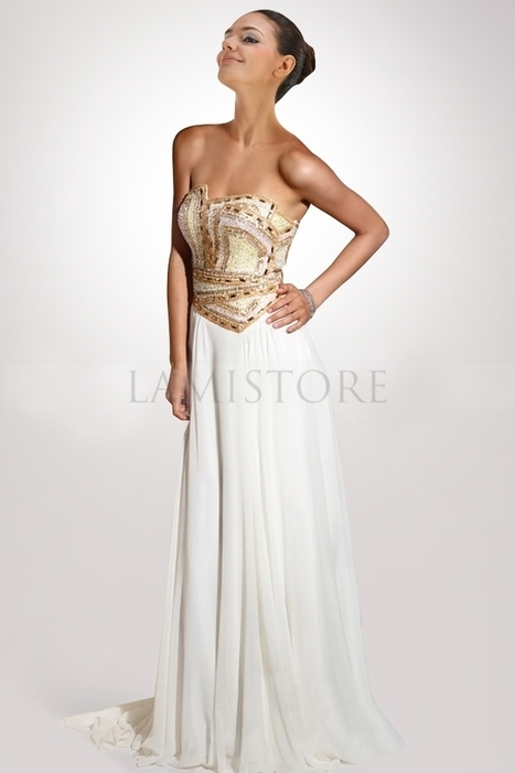 Sumptuous Prom Dresses Dress with Exquisite Sequin and Striking Pattern : Lamistore.com | Lamistore Fashion Prom Dresses | Scoop.it