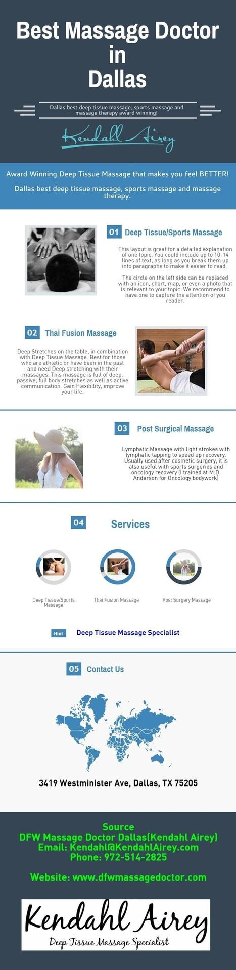 Best Massage Specialist Doctor in Dallas   Healthy Fitness Life   Scoop.it