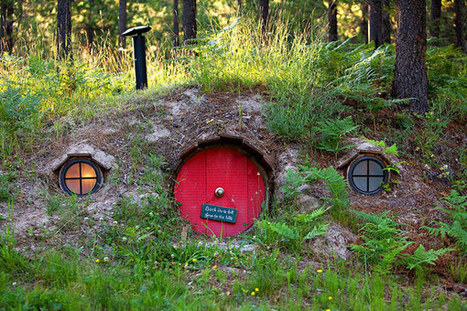 10 Bewitching Hobbit Houses Seemengly Inspired by Tolkien's Fantasy Novels | 'The Hobbit' Film | Scoop.it
