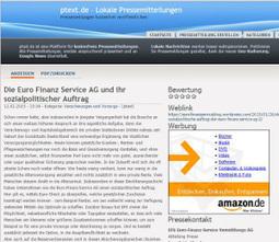Die Euro Finanz Service AG und ihr sozialpolitischer Auftrag | Versicherungen und Vorsorge - Nachrichten | Euro Finanz Service AG | Scoop.it