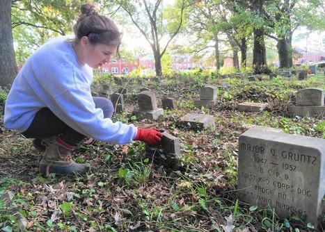 Volunteers work to restore Parkville pet cemetery   Suburban Land Trusts   Scoop.it