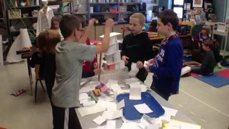 Old Mill Elementary students test engineering and scientific concepts in STEAM ... - The Courier-Journal   Art and STEM   Scoop.it