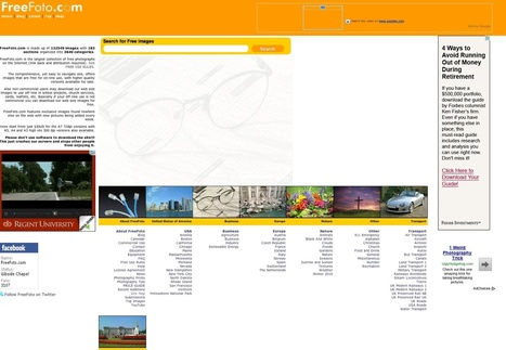 The A-Z of stock photo websites   Tools, Plugins and Freebie for Web Design and Development   Scoop.it