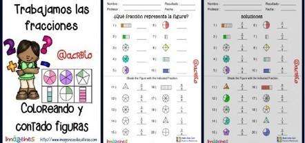 Memorama de Fracciones y sus nombres - Imagenes Educativas | Matemáticas para alumnado con dificultades de aprendizaje | Scoop.it