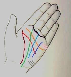 Palmistry::Sketsa Diagram Garis Tangan Ramalan Nasib Manusia | artikel | Scoop.it