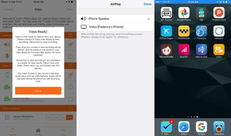Vidyo, a Screen Recorder for iOS | iPads in High School | Scoop.it