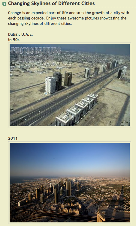 Changing Skylines of Different Cities | Photos | Scoop.it