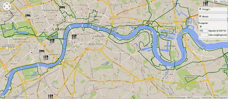 Organize a walk around London with R | Social Foraging | Scoop.it