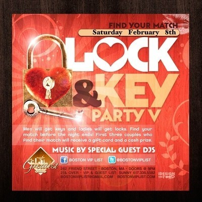 Lock & Key Party @ GREATEST BAR | Boston Nightlife | Scoop.it