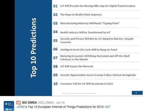 Prédictions 2015 IDC | Digital facts and studies | Scoop.it
