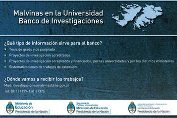 Malvinas en la Universidad Banco de Investigaciones | Educacion, ecologia y TIC | Scoop.it