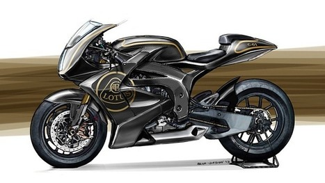 The First Lotus Motorcycle, Imagined by Luca Bar | motorcycle technology | Scoop.it
