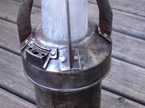 Idée lumineuse, recycler une Lampe de mineur | Best of coin des bricoleurs | Scoop.it