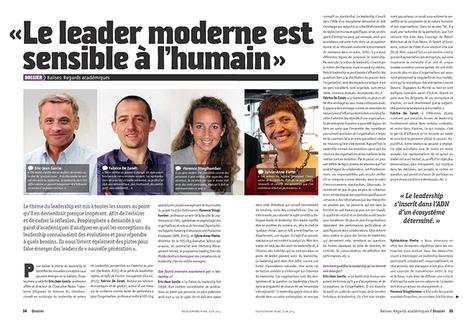 Le leader moderne est sensible à l'humain ! - HEC Executive School   Trust in leadership   Scoop.it