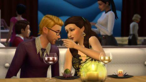 Organiser un anniversaire dans Les Sims 4 au restaurant << SimCookie | Les Sims | Scoop.it