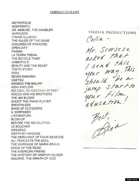 Martin Scorsese Creates a List of 39 Essential Foreign Films for a Young Filmmaker   Books, Photo, Video and Film   Scoop.it