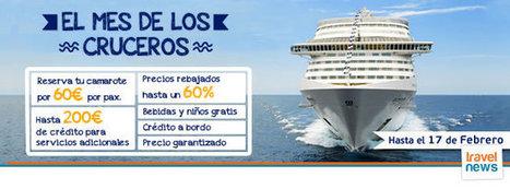 El mes de los cruceros | Aran Viajes | celulares | Scoop.it