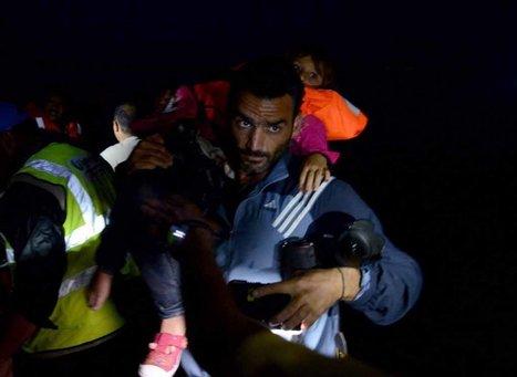 Scènes de guerre en zone de paix - Île de Lesbos, novembre 2015 | Ciné Schneider | Scoop.it
