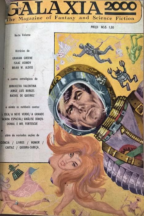 Galáxia 2000, n. 1, revista de ficção científica | Paraliteraturas + Pessoa, Borges e Lovecraft | Scoop.it