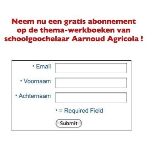 Gratis thema-werkboeken schoolgoochelaar Aarnoud   Gratis thema-werkboeken van schoolgoochelaar Aarnoud Agricola uit Utrecht   Scoop.it