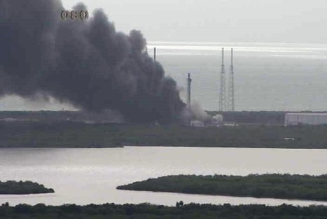SpaceX says probe into Falcon 9 launch pad blast points to helium system leak | The NewSpace Daily | Scoop.it