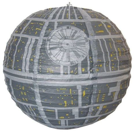 Star Wars : la lanterne en papier Étoile de la mort   HiddenTavern   Scoop.it