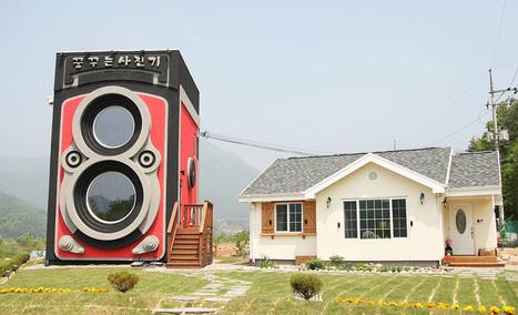 Dreamy Camera : un incroyable salon de thé en forme d'appareil photo - Masculin.com | thé | Scoop.it