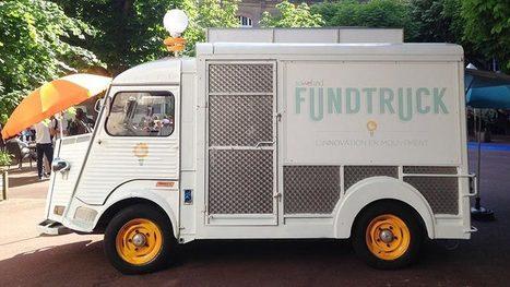 Crowdfunding : Fundtruck, le food truck à la sauce financement de start-up | mécénat & levée de fonds | Scoop.it