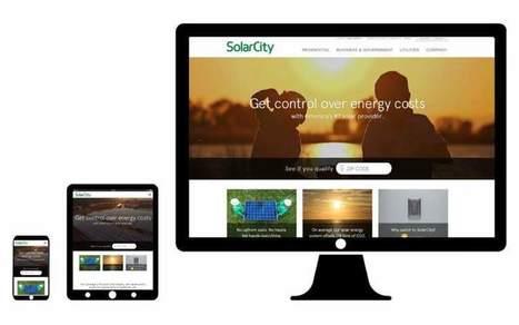 Great Website Design From Desktop to Mobile: 8 Business Websites | Go Digital-Mobile | Scoop.it