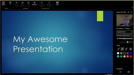 Office Mix: PowerPoint Gets Interactive | #digitalGM | Scoop.it