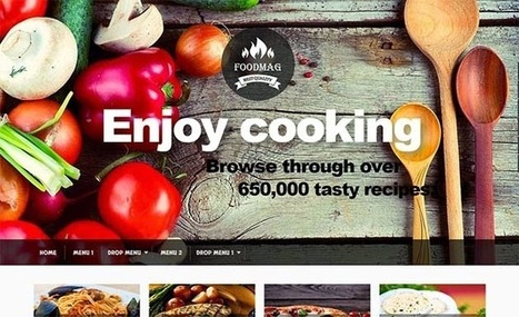 Foodmag Responsive Blogger Template | Blogger Templates | Scoop.it