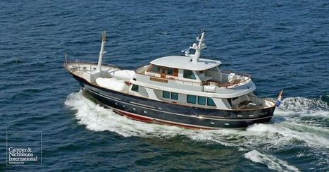 GRIFFIOEN - 27.22m expedition yacht for sale | Boat Industry & Economics | Scoop.it