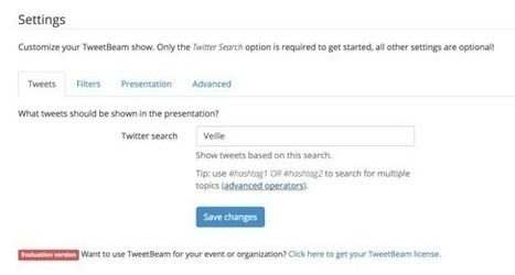 TweetBeam. Créer un mur de Tweets pour vos évènements | Les outils de la veille | Usages professionnels des médias sociaux (blogs, réseaux sociaux...) | Scoop.it