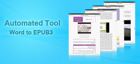 Automated tool for Word to EPUB2 and EPUB3 | Part – II: Where do E-Learning content go today? | Scoop.it
