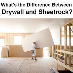 What's the Difference Between Drywall and Sheetrock? | Local Records Office | Scoop.it