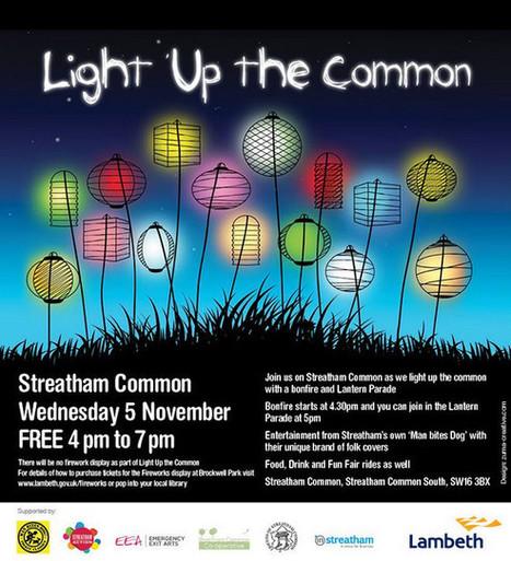 Light Up The Common – free bonfire and lantern parade in Streatham on Nov 5th - BrixtonBuzz | Lambeth | Scoop.it