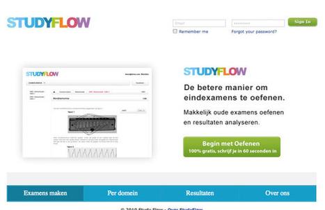 StudyFlow: Online examens oefenen - Frankwatching   StudyFlow   Scoop.it