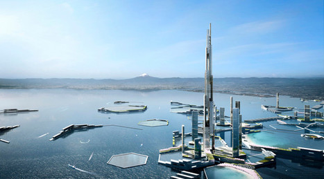 Twice the size of Burj Khalifa: Mile-high tower proposed as centerpiece of future Tokyo (PHOTOS) | Saif al Islam | Scoop.it