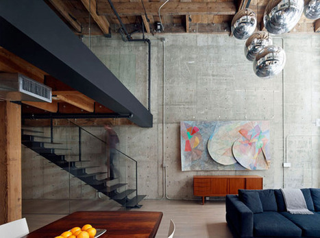 Warehouse in San Francisco Converted into Contemporary Loft | Top CAD Experts updates | Scoop.it