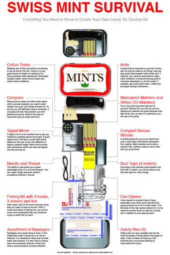Homemade Emergency Survival Kit   Prepper Blog Supplies   Scoop.it